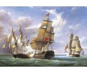 Puzzle Bitva francouzských fregat