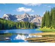 Puzzle Jezero Missurina, Itálie