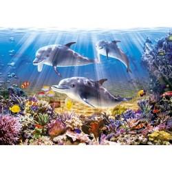 Puzzle Delfíni