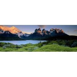 Puzzle Torres del Paine, Chile - PANORAMATICKÉ PUZZLE