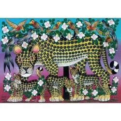 Puzzle Leopard
