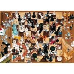 Puzzle Šachy - TRIANGULAR PUZZLE