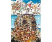 Puzzle Nebe a peklo - TRIANGULAR PUZZLE