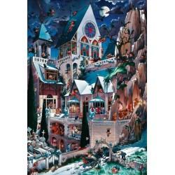 Puzzle Hororový hrad - TRIANGULAR PUZZLE