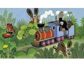 Puzzle Krtek a lokomotiva - DESKOVÉ PUZZLE