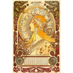 Puzzle Alfons Mucha - Zvěrokruh
