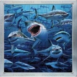 Puzzle Žraloci - PUZZLE s 3D efektem