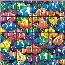 Puzzle Rybičky - PUZZLE s 3D efektem