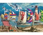 Puzzle Jachty - PUZZLE s 3D efektem