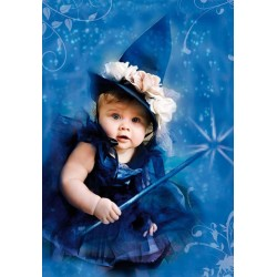 Puzzle Modrá čarodějnice