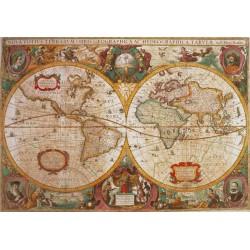 Puzzle Antická mapa světa