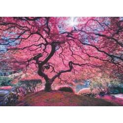Puzzle Růžový strom