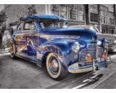 Puzzle Modré auto