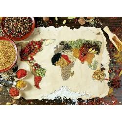 Puzzle Koření z celého světa