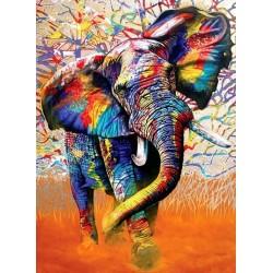 Puzzle Barvy Afriky