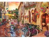 Puzzle Toskánskem na kole