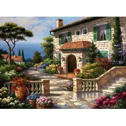 Puzzle Středomořská vila