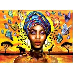Puzzle Nádherná žena