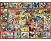 Puzzle Spousta motýlků