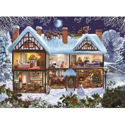Puzzle Vánoční dům
