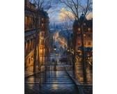 Puzzle Ulička v Montmartre, Paříž