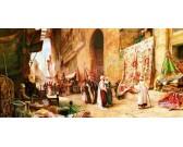 Puzzle Tržiště v Káhiře - PANORAMATICKÉ PUZZLE