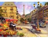 Puzzle Ráno v Paříži