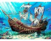 Puzzle Vrak lodi na dně oceánu