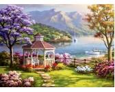 Puzzle Klid u jezera
