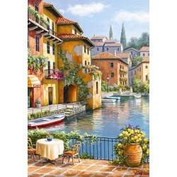 Puzzle Kavárna u vodního kanálu