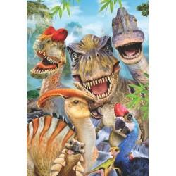 Puzzle Veselí dinosauři