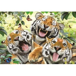 Puzzle Tygří selfie