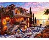 Puzzle Večer u Středozemního moře