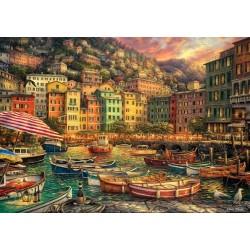 Puzzle Přístav v Cinque Terre