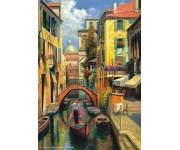 Puzzle Benátský kanál