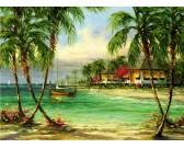 Puzzle Tropický ráj