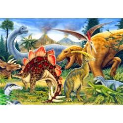 Puzzle Dinosauři - DĚTSKÉ PUZZLE