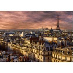 Puzzle Paříž v noci