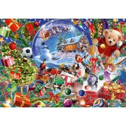 Puzzle Vánoční koule