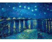Puzzle Hvězdny nad řekou