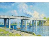 Puzzle Železniční most v Argenteuil