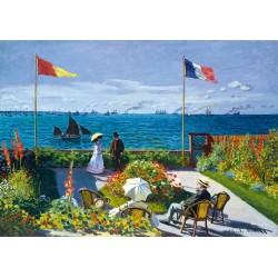 Puzzle Zahrada v Sainte-Adresse