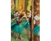 Puzzle Růžovo-zelené tanečnice
