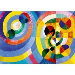 Puzzle Kruhové formy