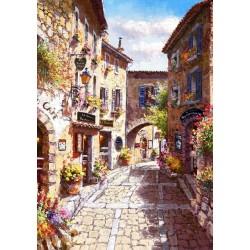 Puzzle Stará romantická ulice