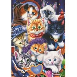 Puzzle Kočičky