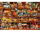 Puzzle Police plné hraček