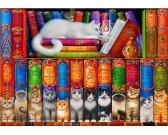 Puzzle Knihy o kočkách