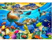 Puzzle Želví pláž