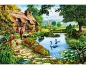 Puzzle Chaloupka u jezera
